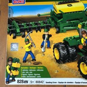 Other - Discontinued Mega Bloks John Deere Seeding Crew